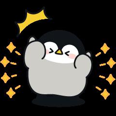Baby of a gentle penguin×Protan & Sally