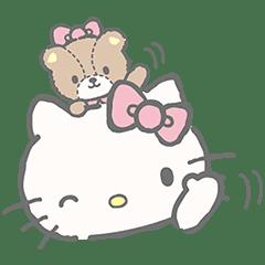 凱蒂貓和泰迪