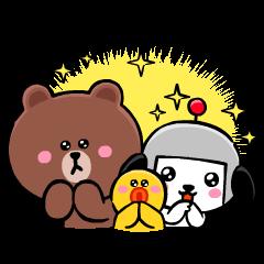 BROWN & KENSAKU Animated: Best Friends