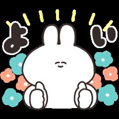 Sarcastic rabbit × LINE Facing Fortune