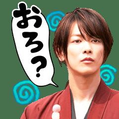 Rurouni Kenshin Movie Big Stickers