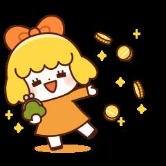 橘子女孩 (係金A貼圖)