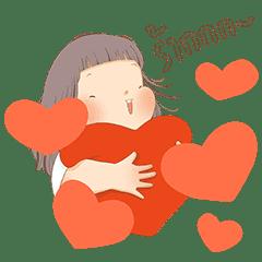 The chubby girl by LeKha: Animated Ver.