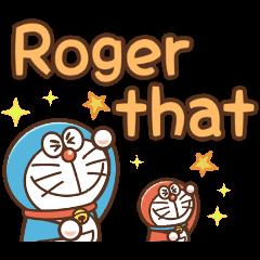 Animated Doraemon Keigo Stickers