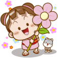 櫻花可可亞✿花花貼圖
