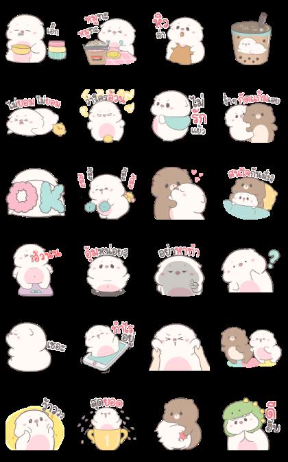 Baby Pig Pop-Ups Aood Aood by Auongrom
