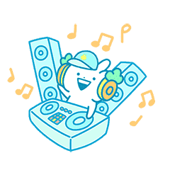 Usagyuuun Music Sticker(Summertime ver.)