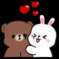BROWN & FRIENDS x 懶懶熊