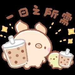 สติ๊กเกอร์ไลน์ Bread Tree ♪ animals useful stickers