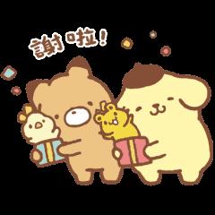 布丁狗×小玉米花 好吃好玩篇
