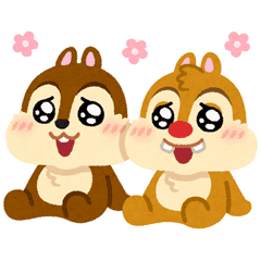 Chip 'n' Dale by Mifune Takashi