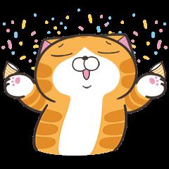 Lan Lan Cat: Super Fun Golden Stickers