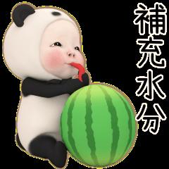 熊貓毛巾 炎炎夏日篇