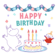 Moomin Versatile Event Stickers