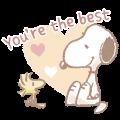 【英文版】Fluffy Snoopy's Caring Stickers