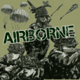 military sticker Airborne