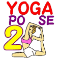 "Namaste ""YOGA POSE VERSION 2"""