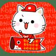 HIROSHIMA BASEBALL CAT