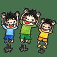 【三兄弟ママ】の毎日スタンプ★