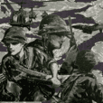 military sticker 1960s