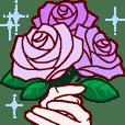 おめでとう/お祝い/祝福の挨拶/ 薔薇 3