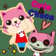 Cute&Chaos 猫スタンプ