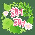 Natural Sticker- green-CT