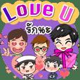 "Popular series ""i love you"". (A) 2021"
