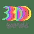 3D wordssss