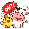 Momo Cow : Cheer Up !!
