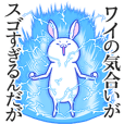 Peculiarity rabbit