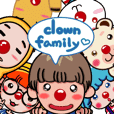 clown family moved moved