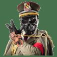 SkullGeneral 'Sasugo'Sticker