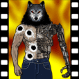 Move,Werewolf game sticker 1