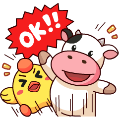 Momo Cow : Cheer Up !