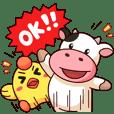 Momo Cow : Cheer Up !