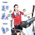 Kang Chiao live-action stickers