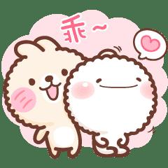 [絨毛生物]毛寶與兔寶-萬用聊天篇