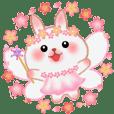 花の妖精 春うさっぴ