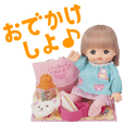 Mell-chan and friends official Sticker 2