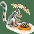 Ryo Shimura Animal Sticker 01