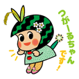 fields fairy Tsugaru-chan's sticker