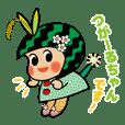 田畑の妖精つがーるちゃん(青森県つがる市)