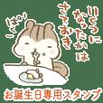 Happy birthday to you-!!!!!!!!!!!!!!!!!