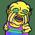 Rainbow grandpa