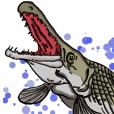 Daily Tropical Fish Aqua List Stamp