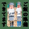 Yuuki's childhood paintigs