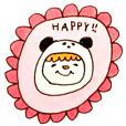 PAN-KUN's cute Sticker2