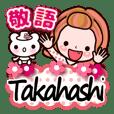 """Pretty Kazuko Chan series """"Takahashi"""""""