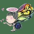 Love in Love angel - bonjour
